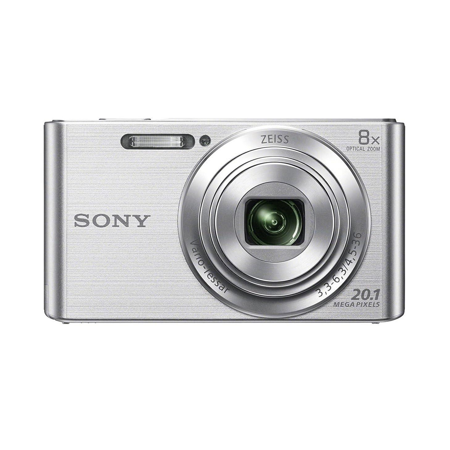 Sony Cyber-SHOT DSC-W830 ( 20.5 MP,8 x Optical Zoom,2.7 -inch LCD ) (International Model)
