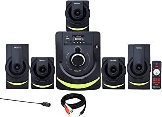 TRONICA Version:1 Atom Series LED Spectrum 5.1 Home Theater System with Bluetooth/SD Card/Pen Drive/FM/AUX Support & Remot...