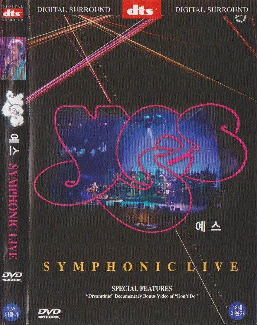 Yes: Symphonic Live 2001 All Region, Import by Aubrey Powell ...