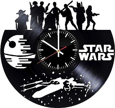 Reloj De Pared con Registro De Vinilo del Personaje De Star ...