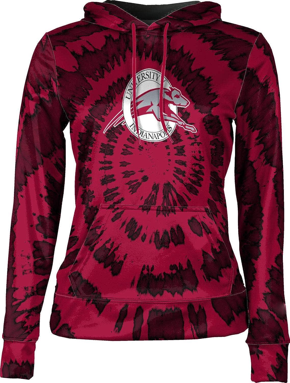 ProSphere University of Indianapolis Girls' Pullover Hoodie, School Spirit Sweatshirt (Tie Dye)