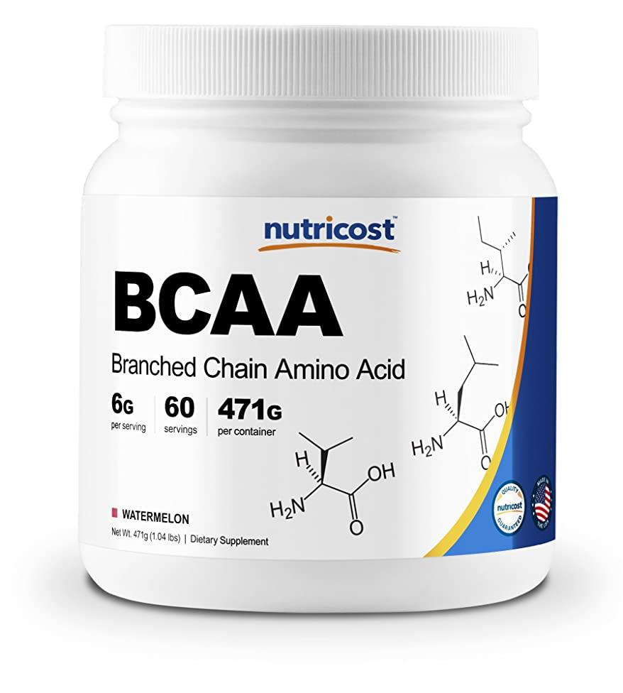 Nutricost BCAA Powder 2:1:1 (Watermelon) - 60 Servings