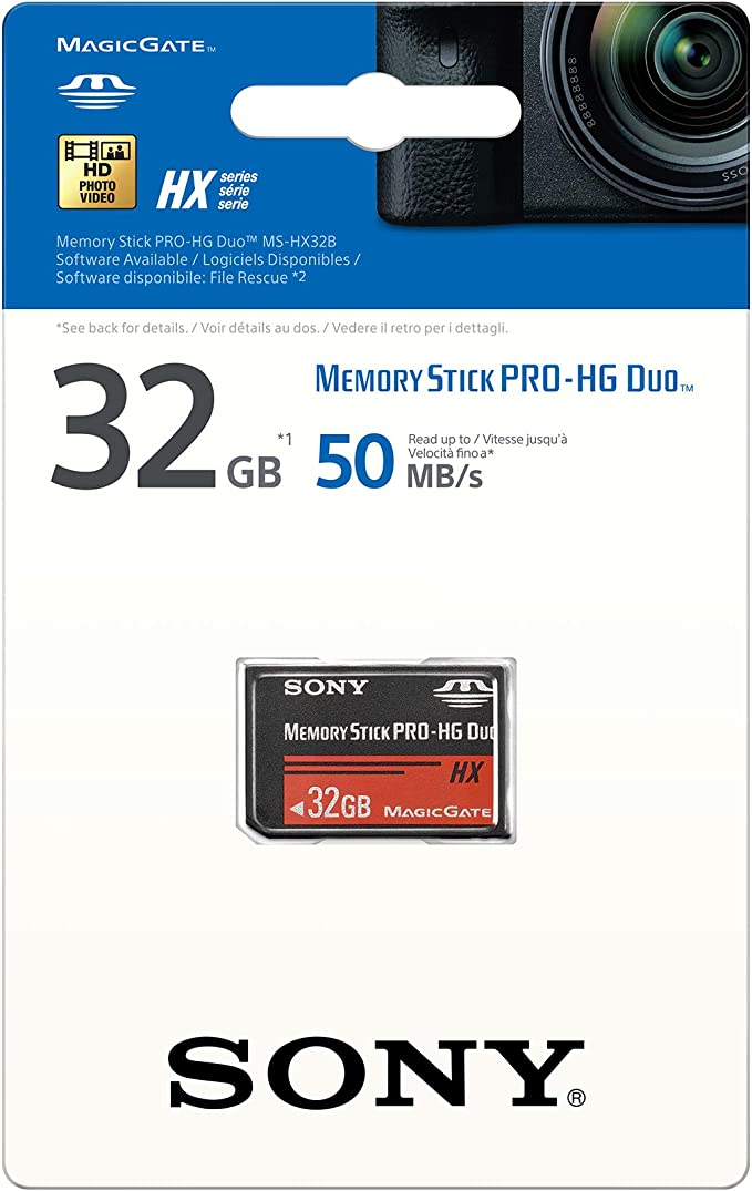 Sony Mshx32b2 32gb High Speed 50mb S Flash Memory Card Computers Accessories