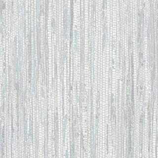 Norwall G67960 Rough Grass Wallpaper, Blue, Turquoise, Grey