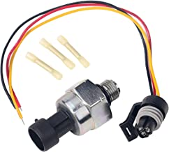 ICP Sensor with Harness Kit - Injection Control Pressure - Fits Ford 7.3 Powerstroke E350 Club Wagon, Econoline, F250, F-350 Super Duty - Replaces F6TZ-9F838-A, 1807329C92, F4TZ9F838A, CM5227