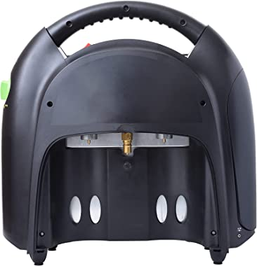 Flame King YSN-CHS20 20,000 BTU Propane Gas Tank Space Radiant Portable Heater Indoor & Outdoor for Camping, Garage, Ice