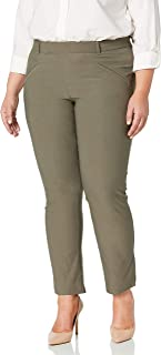 LEE Women's Plus-Size Modern Series Ivy Slim Straight Leg Pant