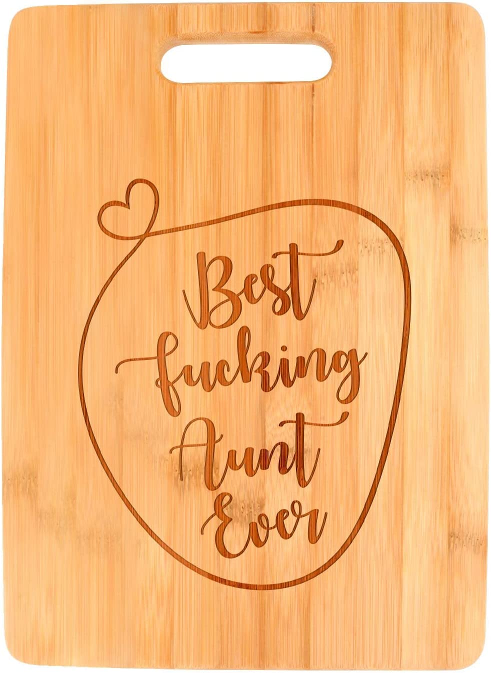 Funny Cutting Boards Bombing free shipping For Kitchen Best Rect Aunt Large-scale sale Big Ever F-cking