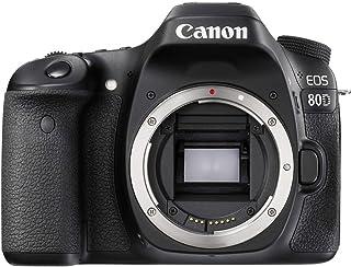 Canon EOS 80D body only Digital Camera - SLR(80DB) 3Inch Display,Black (Australian warranty)