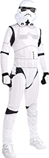 Costumes USA Star Wars Stormtrooper Costume for Boys, Includes a Black and White Jumpsuit and a Mask