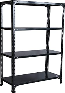 Efficacy Extra Strong Multipurpose Ace Rack Slotted Angle Rack for Shoes, Clothes, Books & Utility Rack With 4 Shelves 18 ...