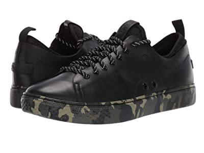 Polo Ralph Lauren Dunovin (Black/Camo Soft Sport Leather) Men