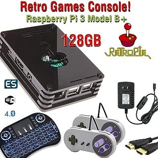 Raspberry Pi 3 Model B+ (B Plus) based retropie retro games emulation system - 32GB edition
