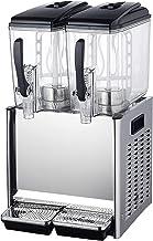 CLING Dryckesdispenser maskin kommersiellt varmt och kallt automatisk dubbel cylinder juice iste dryckesmaskin liten dubbe...