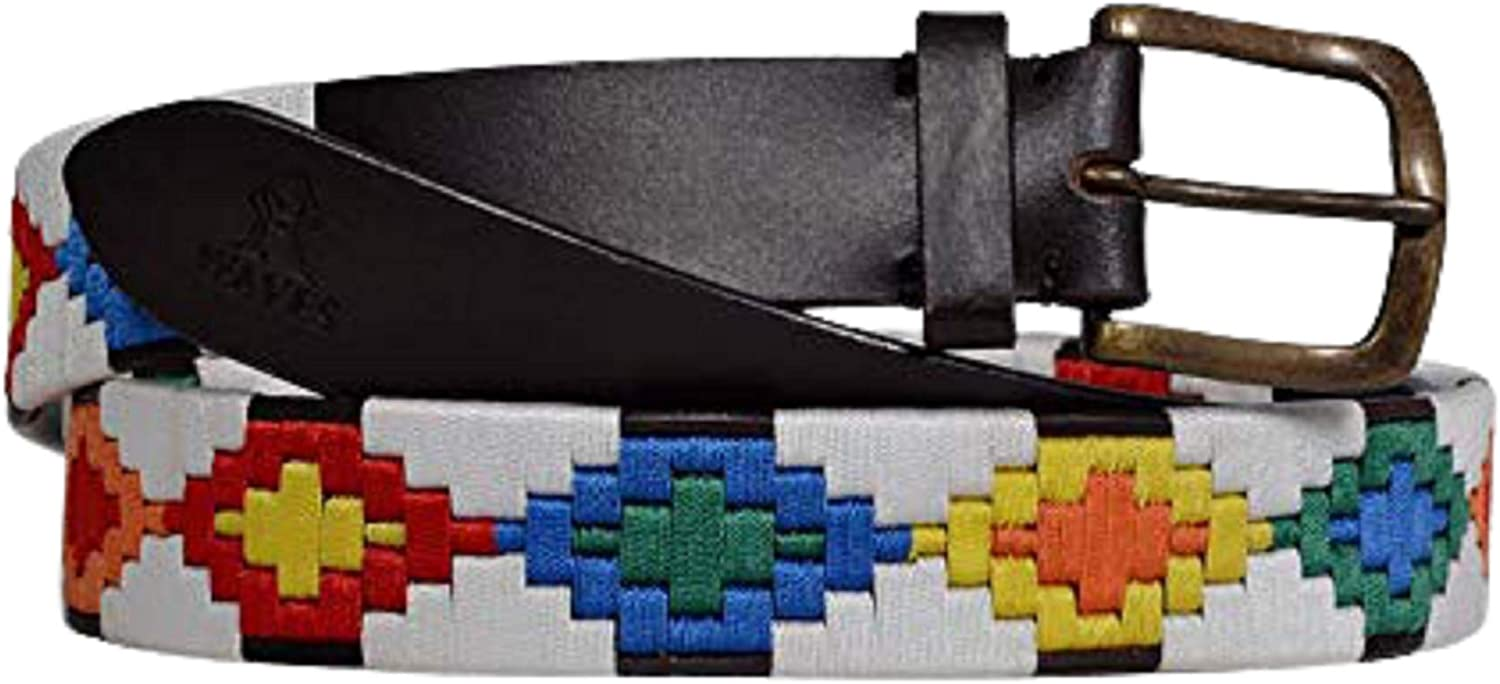 R waves unisex-adult NEW Argentine Belts Woven Polo Hand Max 68% OFF Belt