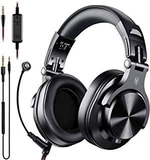 $42 » OneOdio A71 Over Ear Headsets with Boom Mic - PS4 Xbox One Nintendo Switch PC Wired Stereo Headphones with On-Line Volume & Share-Port Headsets for Gaming Office Phone Call DJ