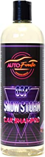 AUTO FANATIC 007 SNOW STORM CAR SHAMPOO | pH Neutral Self Cleaning Snow Foam | Intense Gloss & Instant Hydrophobic Water Beading | Touchless Wash Snow Foam | Ceramic Coating Safe