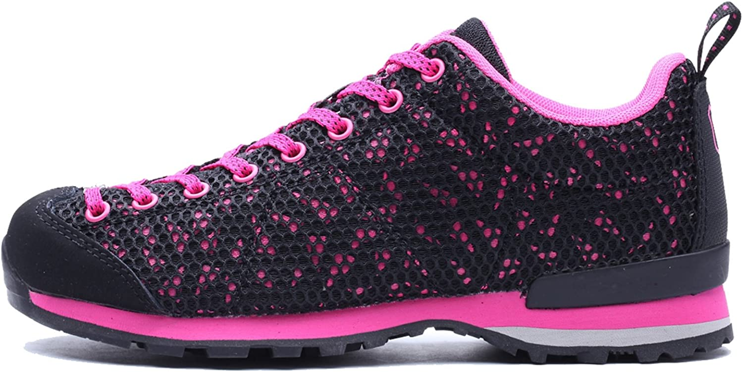 CAMSSOO Womens Outdoor Mesh Quick-Dry Lightweight Walking Hiking Running shoes