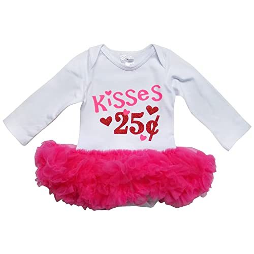 1cf7ba9291fd So Sydney Infant Toddler Baby Valentines Day Tutu Chiffon Ruffle Bodysuit  Romper