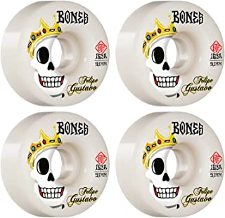 Bones Skateboard Wheels 51mm Gustavo Notorious V1 Standard STF 103A