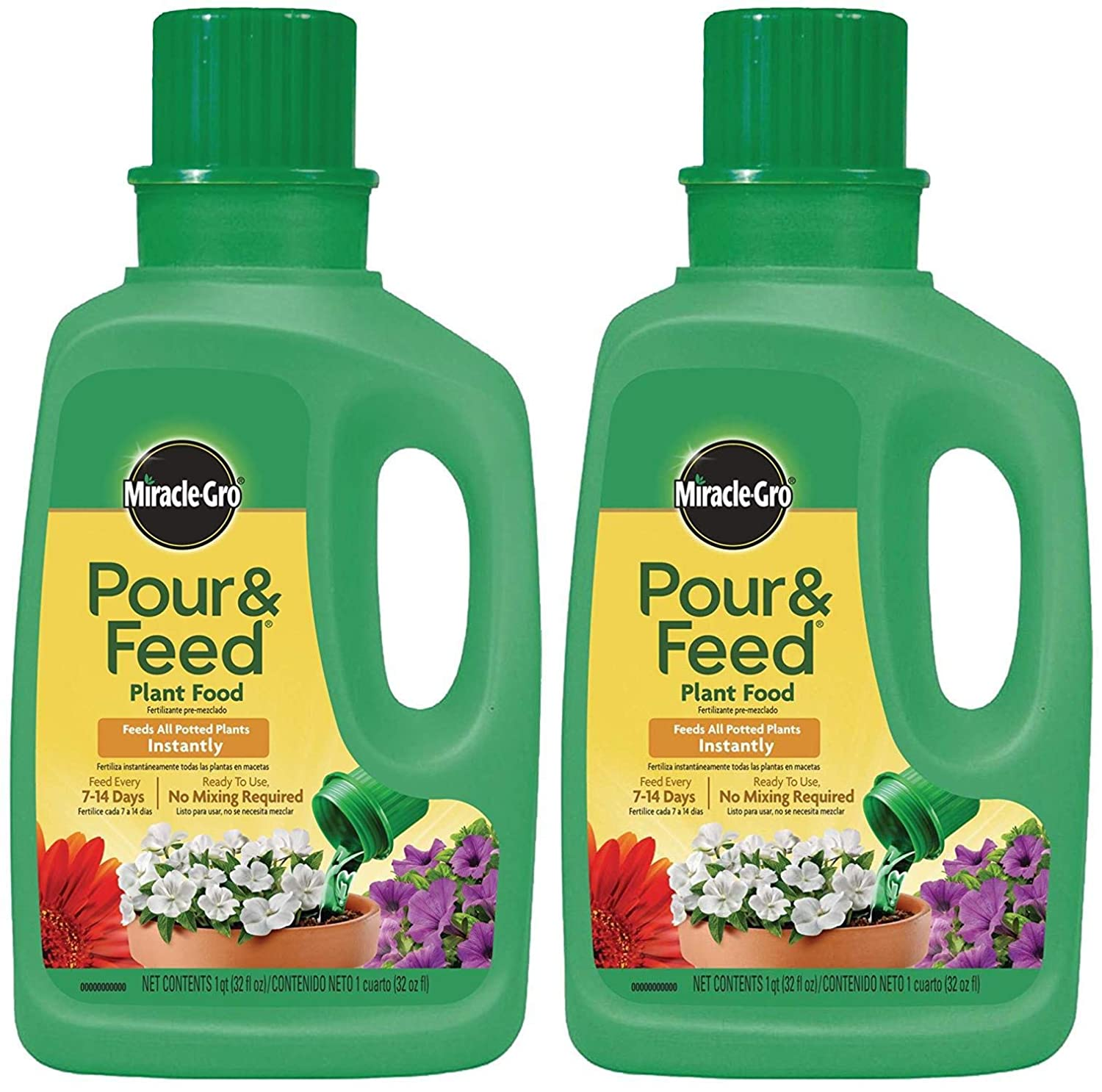 Miracle-Gro Pour Feed Plant Food Liquid Nippon regular agency fl. - 32 Special Campaign oz. 100600