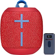 Ultimate Ears 984-001549 WONDERBOOM 2 Portable Waterproof Bluetooth Speaker Radical Red Bundle with Deco Gear Power Bank 8...