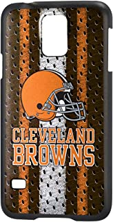 Team Pro Mark Licensed NFL Cleveland Bears Slim Series Protector Case for Samsung Galaxy S5 - Retail Packaging - Orange/White
