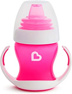 Munchkin Gentle Transition Trainer Cup, 4 oz/118 ml, Pink, 1 Pack