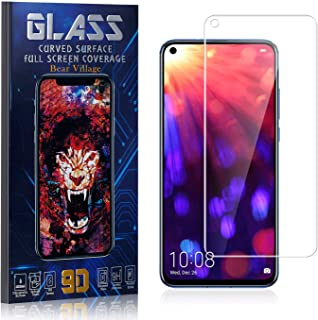 Tempered Glass Screen Protector for Huawei Nova 4, Bear Village HD Crystal Clear Screen Protector Film for Huawei Nova 4, Bubble Free, 9H Hardness, 4 Pack