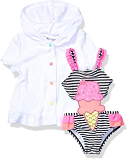 Baby Girls Carnival Connector Set with Terry Cover Up