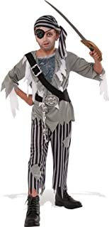 Rubies Costume Child's Ghostly Boy Pirate Costume, Multicolor, Large