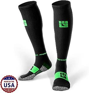 MudGear Premium Compression Socks - Mens & Womens Running Hiking Trail (1 Pair)