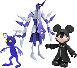 DIAMOND SELECT TOYS Kingdom Hearts Select: Hooded Mickey, Assassin & Purple Shadow Action Figure Multi-Pack
