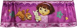 Nickelodeon Dora The Explorer Window Valance Doras Pets Satin Window Treatment