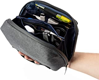 Sterkmann Tech Pouch   Electronic Organizer   Travel Cable Organizer   Gadgets Accessories Bag for Hard Drives Cable Cord ...