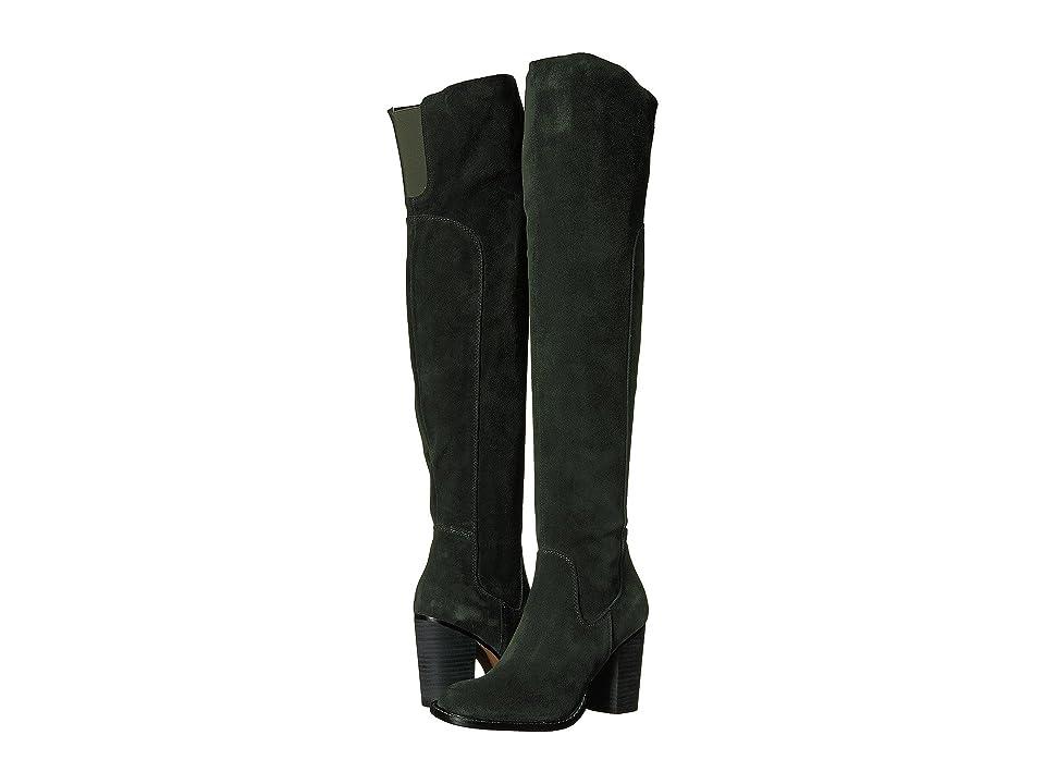 Kelsi Dagger Brooklyn Logan Over the Knee Boot (Forest) Women