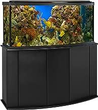 Aquatic Fundamentals Aquarium Stand, Bow Front, Black