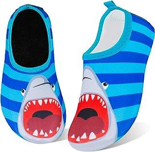 Kids Water Swim Shoes Barefoot Aqua Socks Shoes Quick Dry Non-Slip Baby Boys & Girls