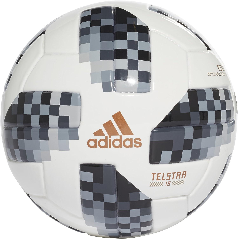 FIFA 2018 World Cup Russia Souvenir Soccer Ball Platinum Color size 5