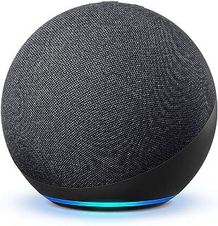 【新型】Echo (エコー) 第4世代 - スマートスピーカーwith Alexa - プレミアムサウンド&スマートホームハブ、チャコール
