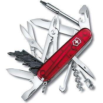VICTORINOX(ビクトリノックス) ナイフ 精密ドライバーセット PC 分解 DIY 工具セット サイバーツールM 1.7725.T 【国内正規品 保証付】