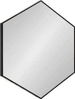 hexagon wall mirror