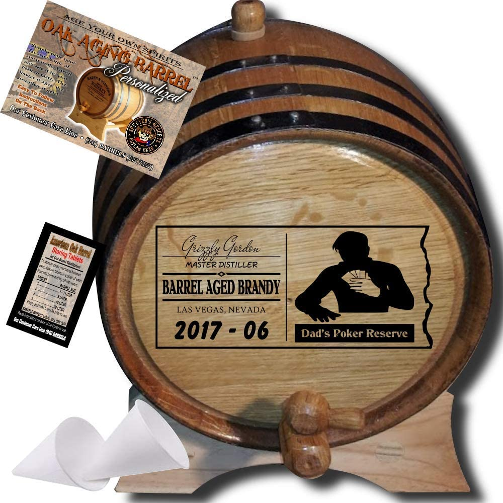 New arrival Personalized American Oak Aging Barrel From 077 Re Skeeter's Be super welcome -