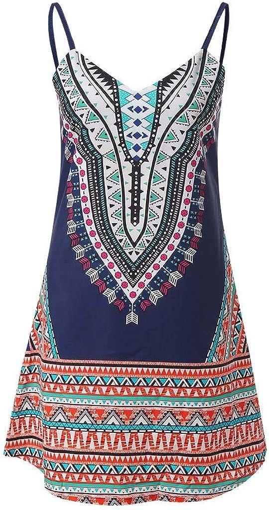 Boho Dresses Forthery Women Summer Trust Su Swing Beach 5 ☆ very popular Casual Vintage