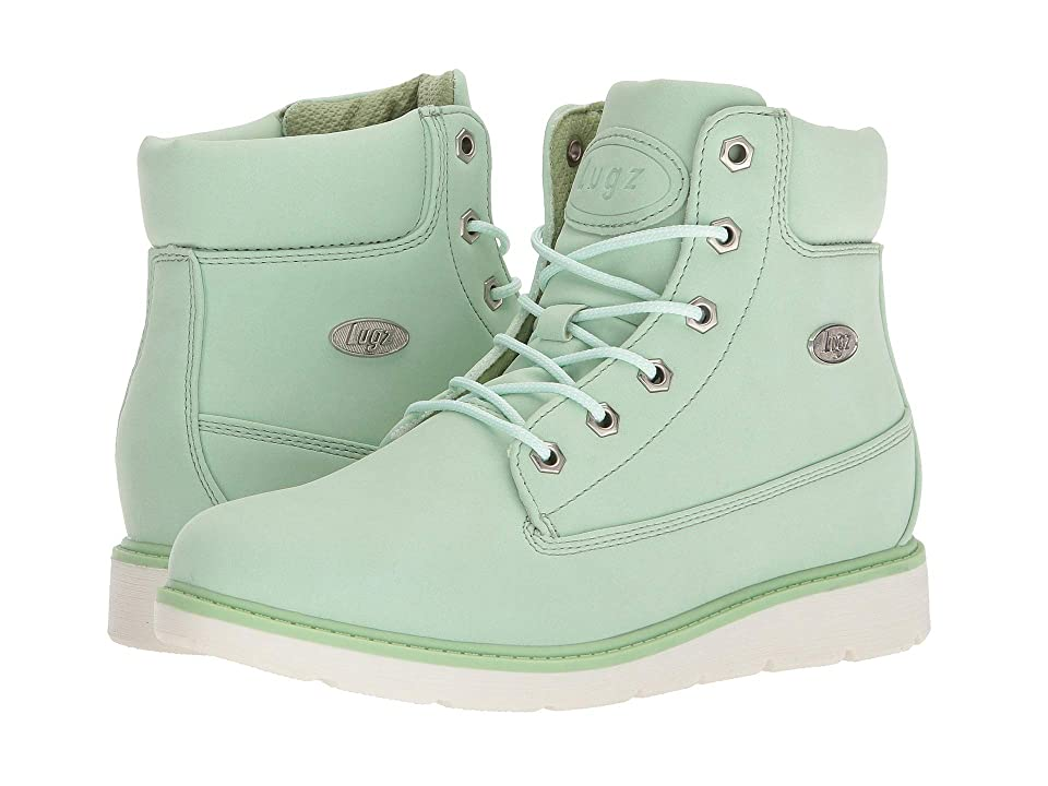 Lugz Quill Hi (Mint/White) Women