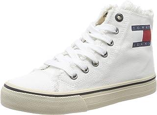 Tommy Hilfiger WMN Hightop Tommy Jeans Sneaker, Sneakers Basses Femme