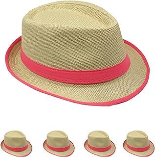2d9e28dcb272d List A Straw Fedora Hat w Band   Rim LINE Stylish Trilby Gangster Panama  Classic