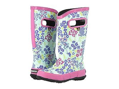 Bogs Kids NW Garden Rain Boot (Toddler/Little Kid/Big Kid) (Aqua Multi) Girls Shoes