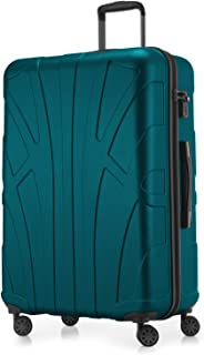 SUITLINE - Valise Plus Grande Bagages Rigide, 76 cm, 110 Liter, Turquoise
