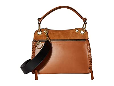 See by Chloe Tilda Shoulder Bag (Caramello) Handbags